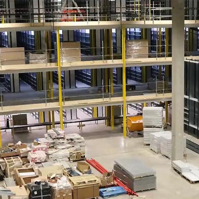 IOA Production Orléans - Timelapse - Construction - CG2I Douai - Amazon