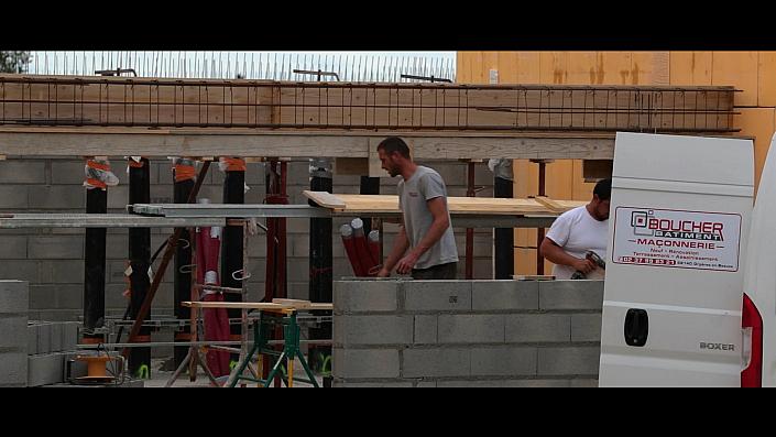 Construction d'une unité de Biogaz en Beauce. Nos camera timelapse suive ce magnifique chantier pendant les 18 mois de la construction.