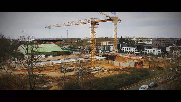 Timelapse d'une rénovation de la  Piscine de la source à Orléans. Notre caméra Time lapse a suivi ce projet durant 18 mois